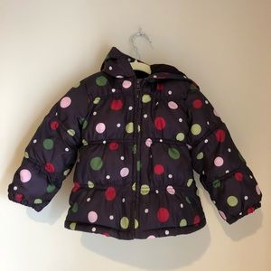 Gymboree puffer coat 2T/3T